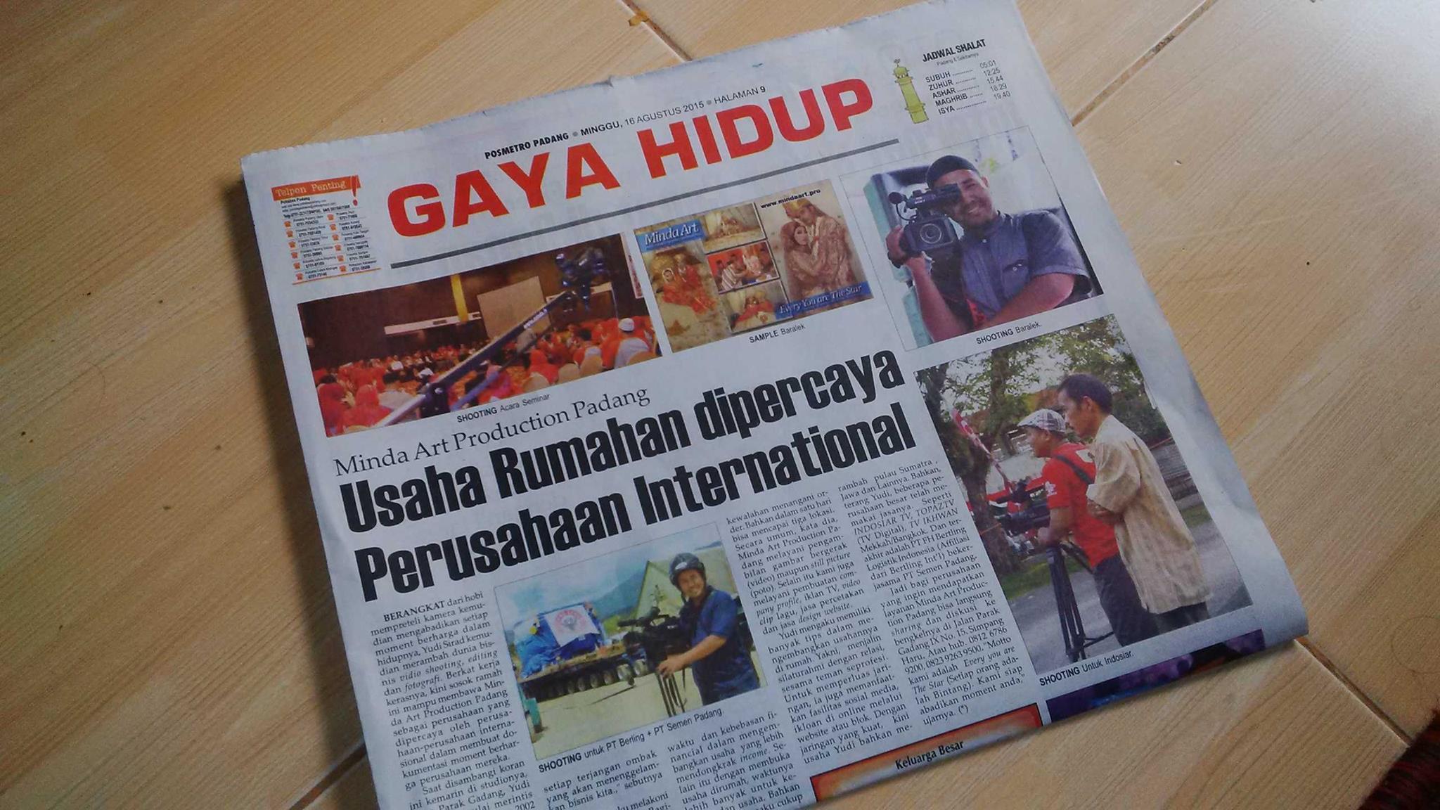 Jasa Video Shooting, Video Editing Padang Sumatera Barat