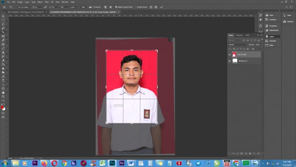 Cara Edit Pas Foto dengan Photoshop (1)