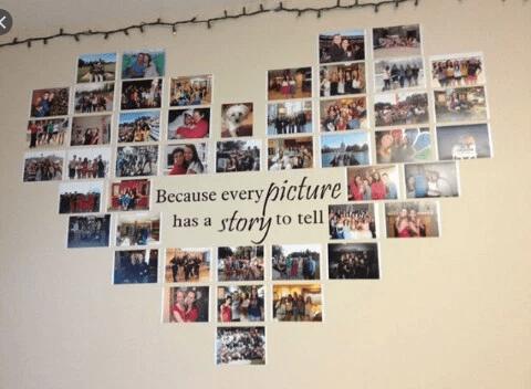 Cara Menata Foto Polaroid di Kamar