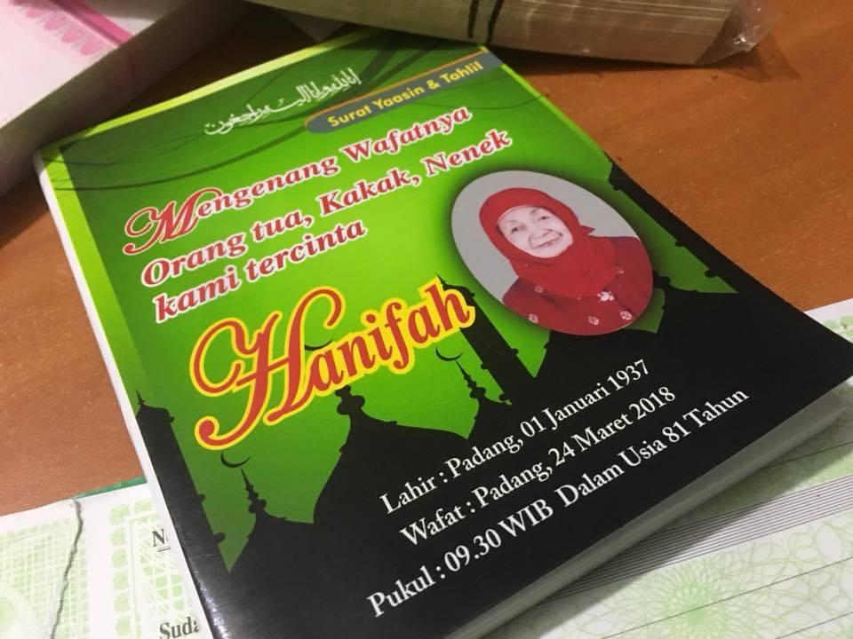 Jasa Cetak Buku Yasin Padang